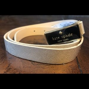 Kate Spade ♠️ In the Loop Champagne Gold Belt